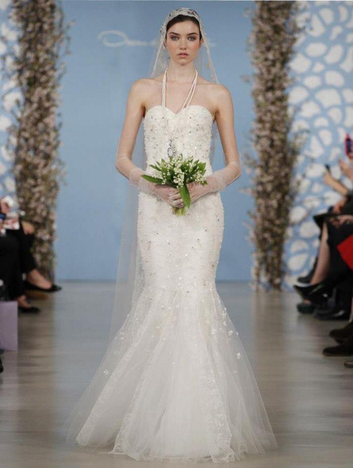 Wedding Dress by Oscar de la Renta Spring 2014 Bridal 16