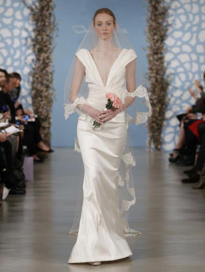Wedding Dress by Oscar de la Renta Spring 2014 Bridal 8