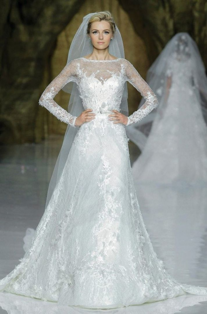 8 Wedding Dresses Elie Saab Wedding Dress 2014 Pronovias Bridal 8