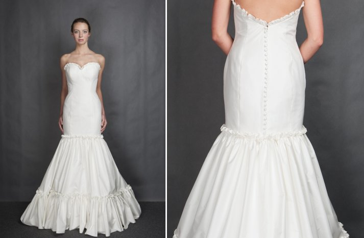 Heidi Elnora wedding dress Spring 2014 Bridal Sweet Caroline