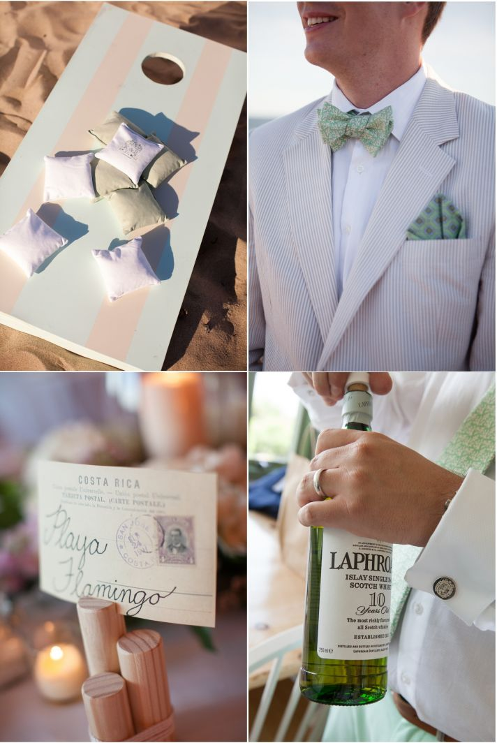 Real Wedding Long Island Throo Williams Photography by Verdi Reception Green White Details