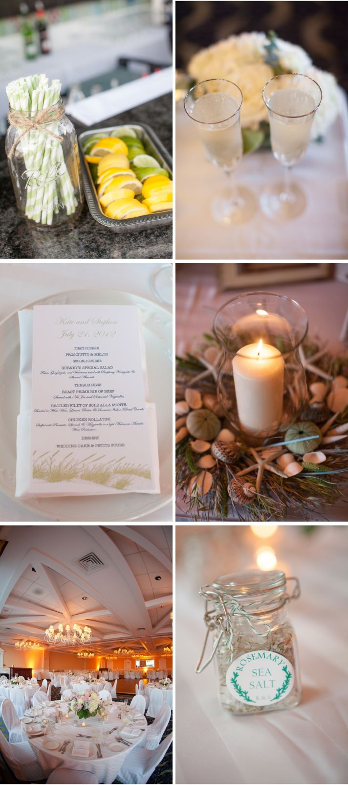 Real Wedding Long Island Throo Williams Photography by Verdi Reception Food Detail