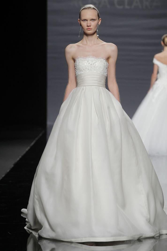 First look at rosa clara 2014 wedding dresses onewed for Rosa clara wedding dresses 2014