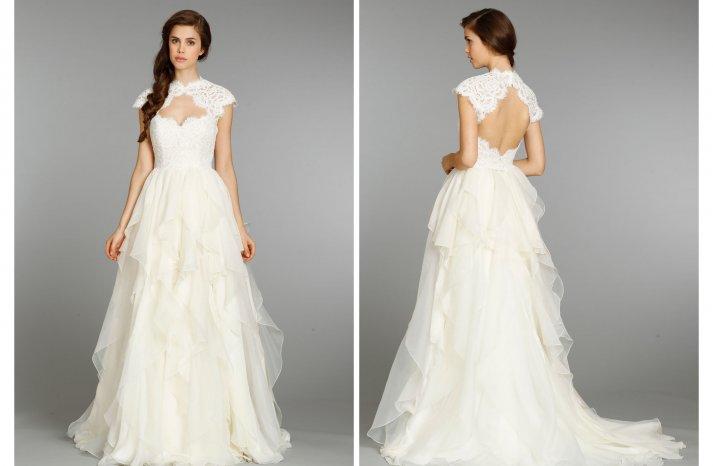 Hayley Paige wedding dress Fall 2013 Bridal 6353