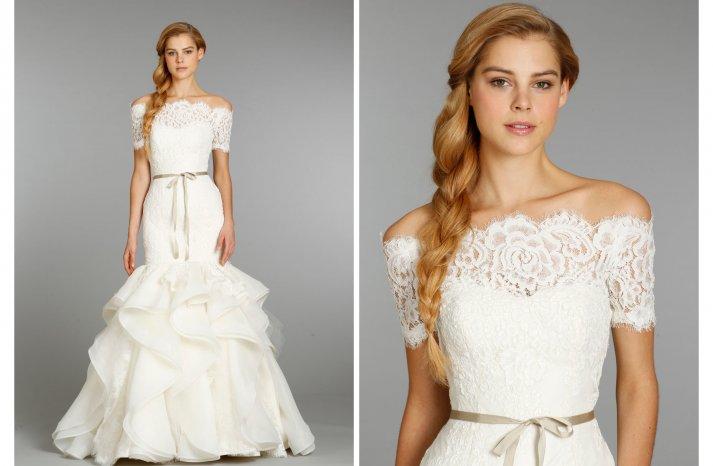 Hayley Paige wedding dress Fall 2013 Bridal 6357