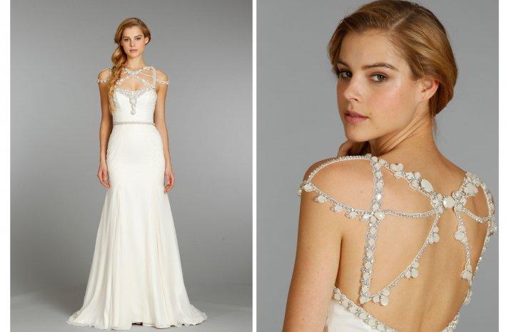 Hayley Paige wedding dress Fall 2013 Bridal 6362