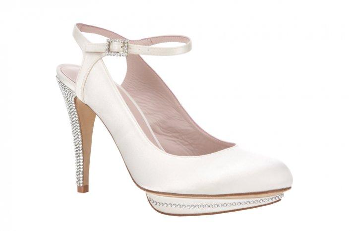 Wedding shoes by Harriett Wilde bridal heels Margot