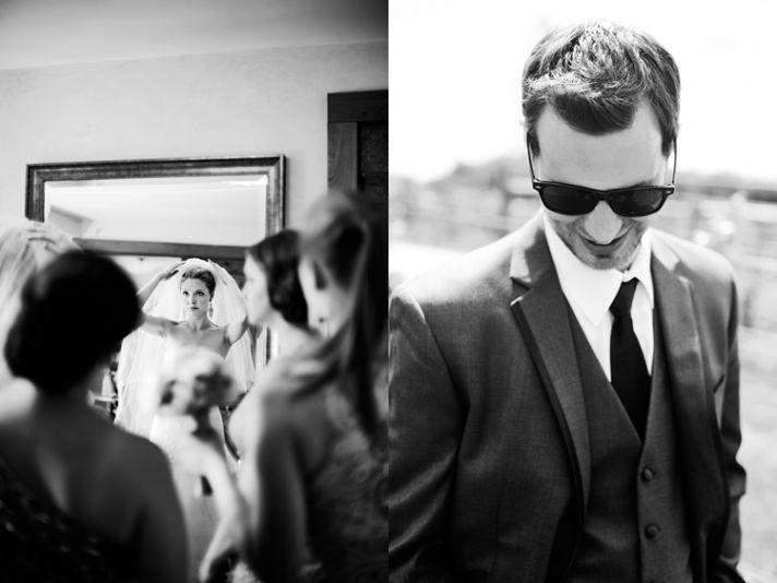 IL winery wedding dapper groom elegant bride