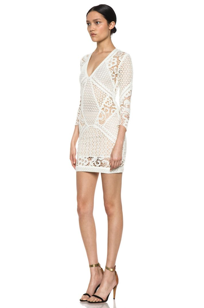 Lace crochet LWD for wedding reception