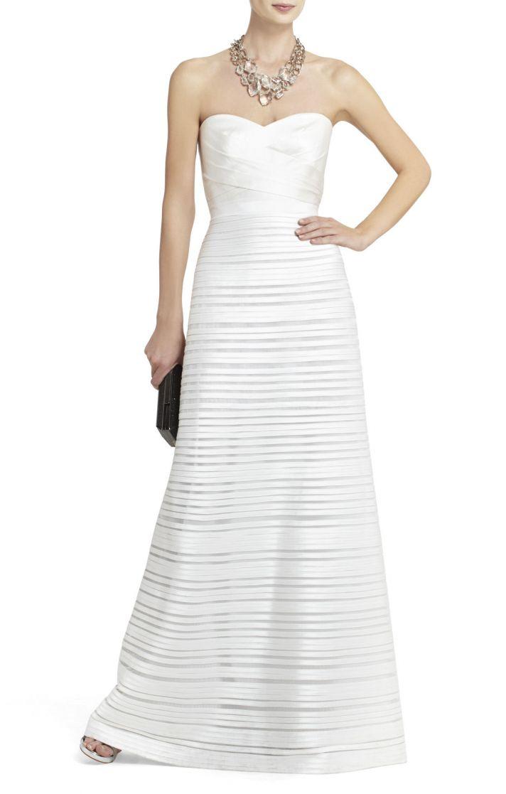 BCBG wedding gown 2013 bridal 1