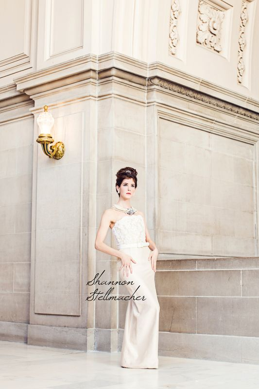 Breakfast at Tiffanys bridal style wedding inspiration 5