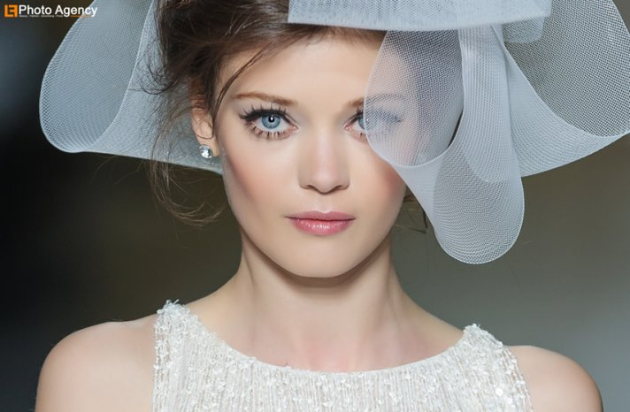 statement lashes wedding makeup inspiration Pronovias