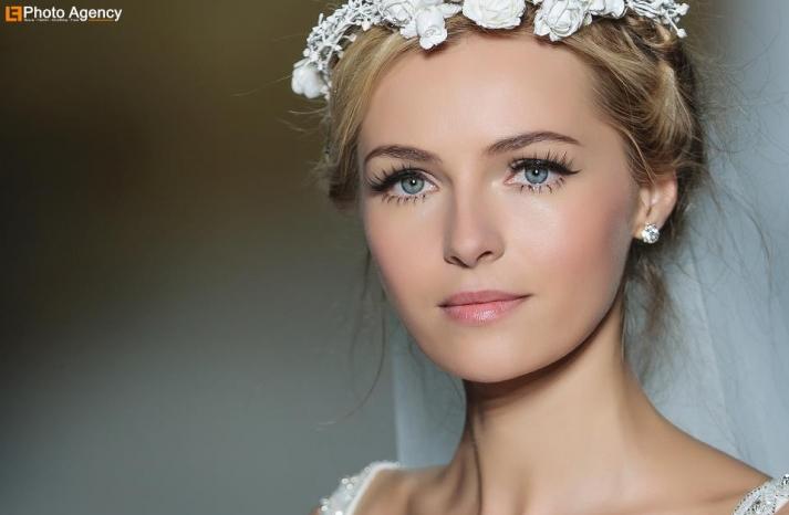 Pronovias bridal wedding makeup inspiration 2014 catwalk 6