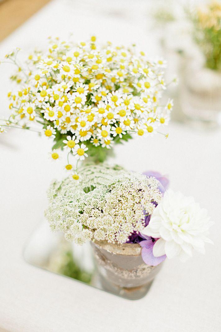 aster wedding flower arrangements for summertime