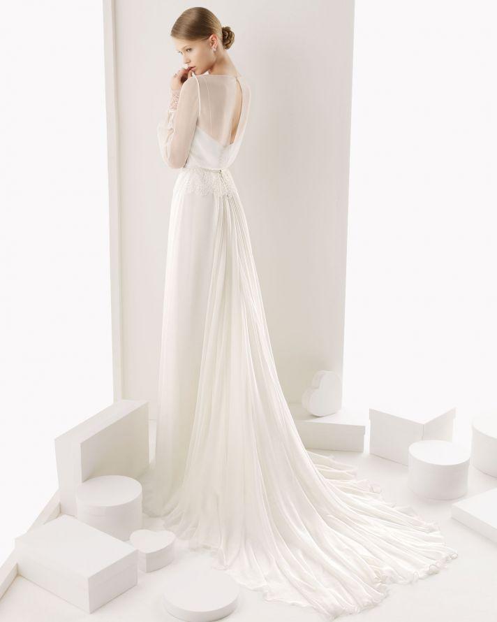 Rosa Clara wedding dress 2014 bridal Ceuta