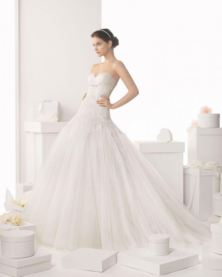 Rosa Clara wedding dress 2014 bridal Calafell