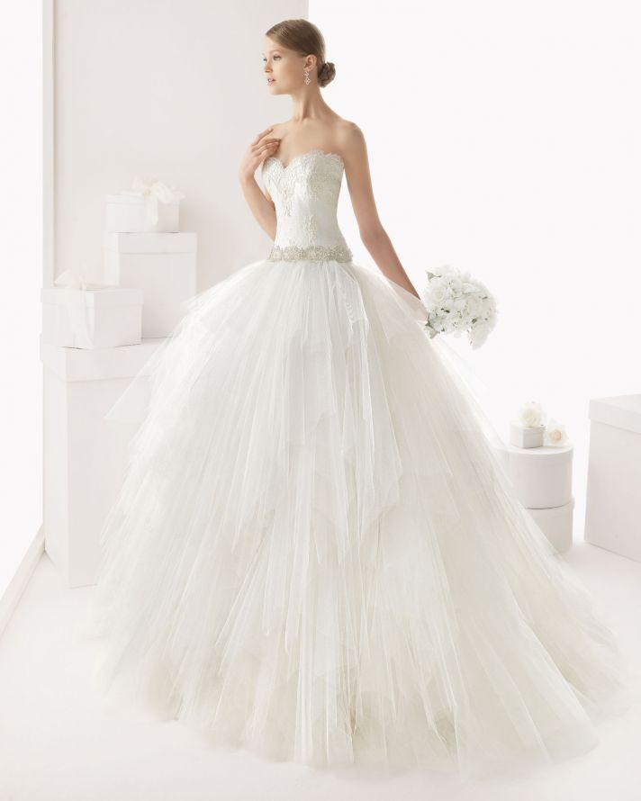 Rosa Clara wedding dress 2014 bridal Castro