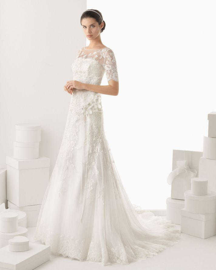 Rosa Clara wedding dress 2014 bridal Canarias