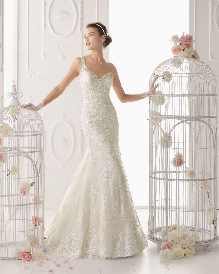 Aire Barcelona wedding dress 2014 Bridal Ovacion