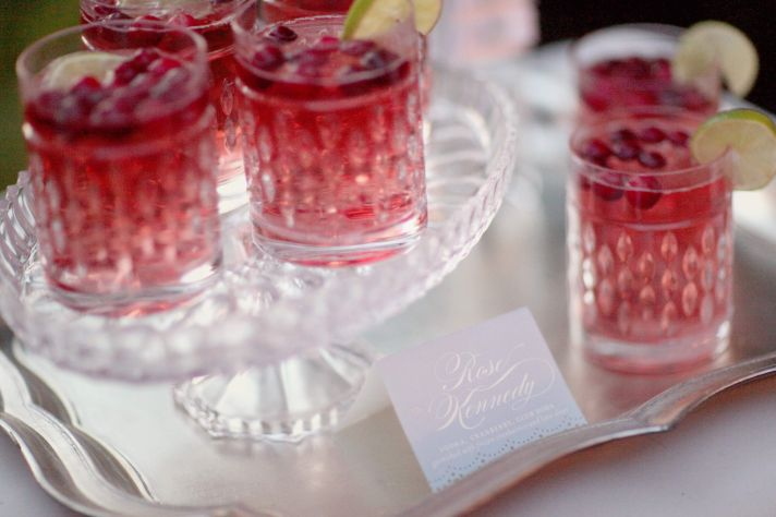 Signature drinks for summer weddings Cape Cod