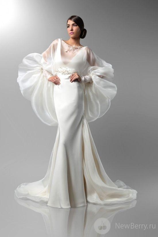 Fall 2013 bridal trends incredible sleeves