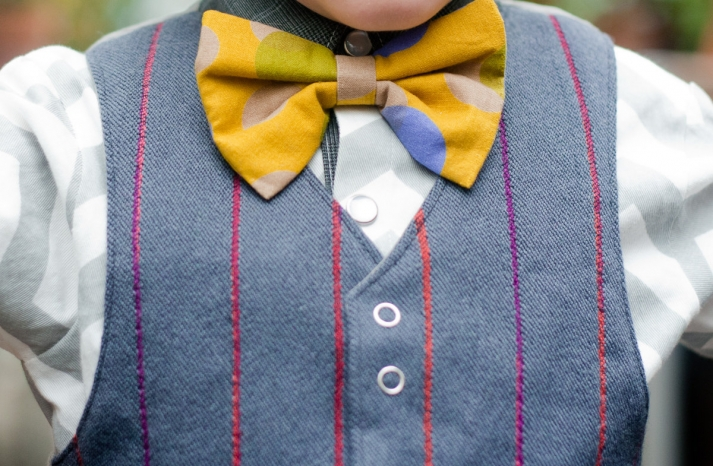 Ring bearer outfit for hipster wedding