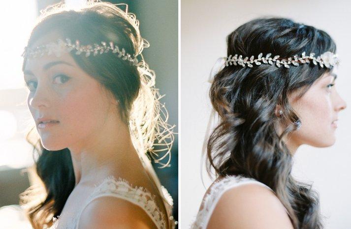 Stunning wedding veils and headpieces by Serephine 3