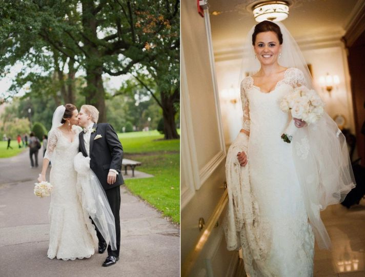 Outdoor Fall Wedding Dresses 7 Marvelous Custom lace bridal gown
