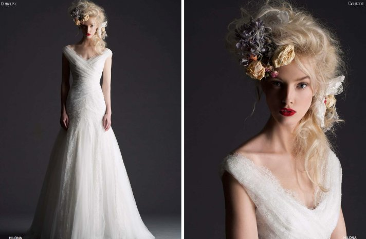 Cymbeline Paris bridal 2014 wedding dress 1
