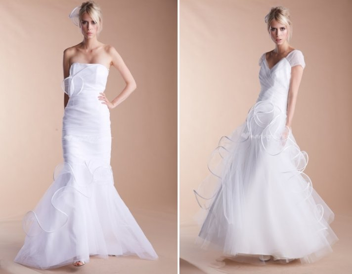 Suzanne Ermann wedding dresses French bridal designer