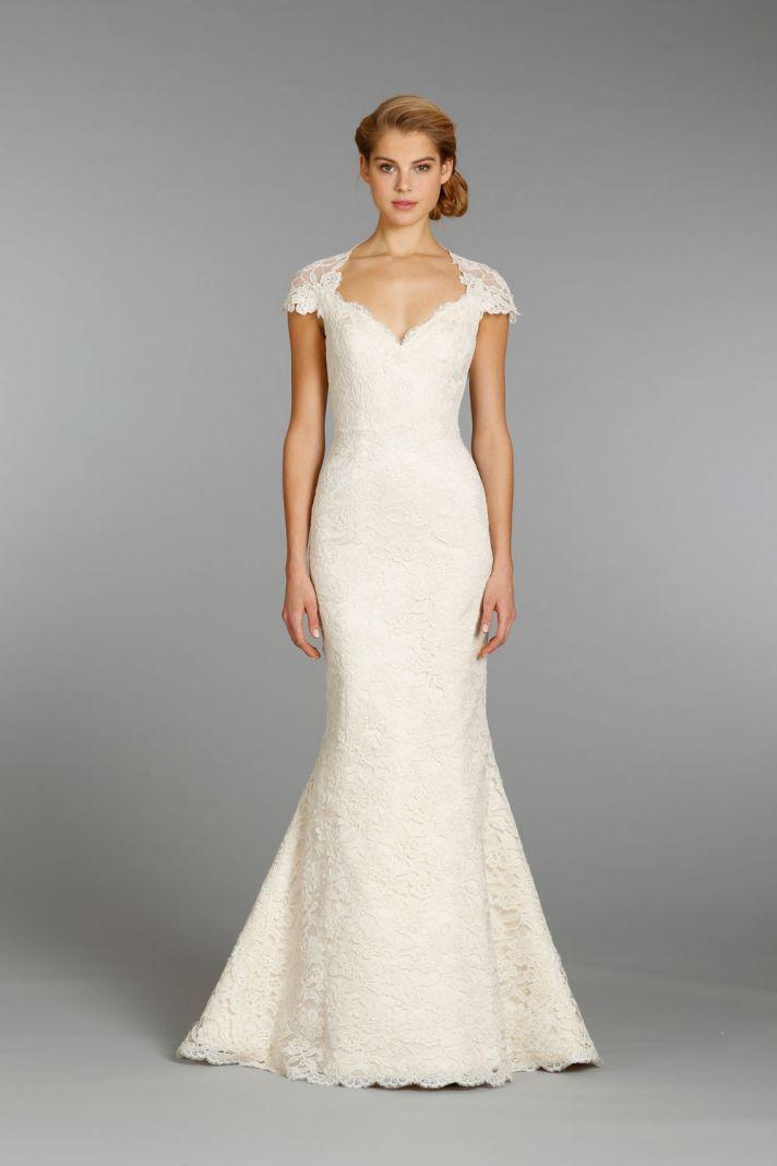 Alvina Valenta wedding dress Fall 2013 Bridal 9358