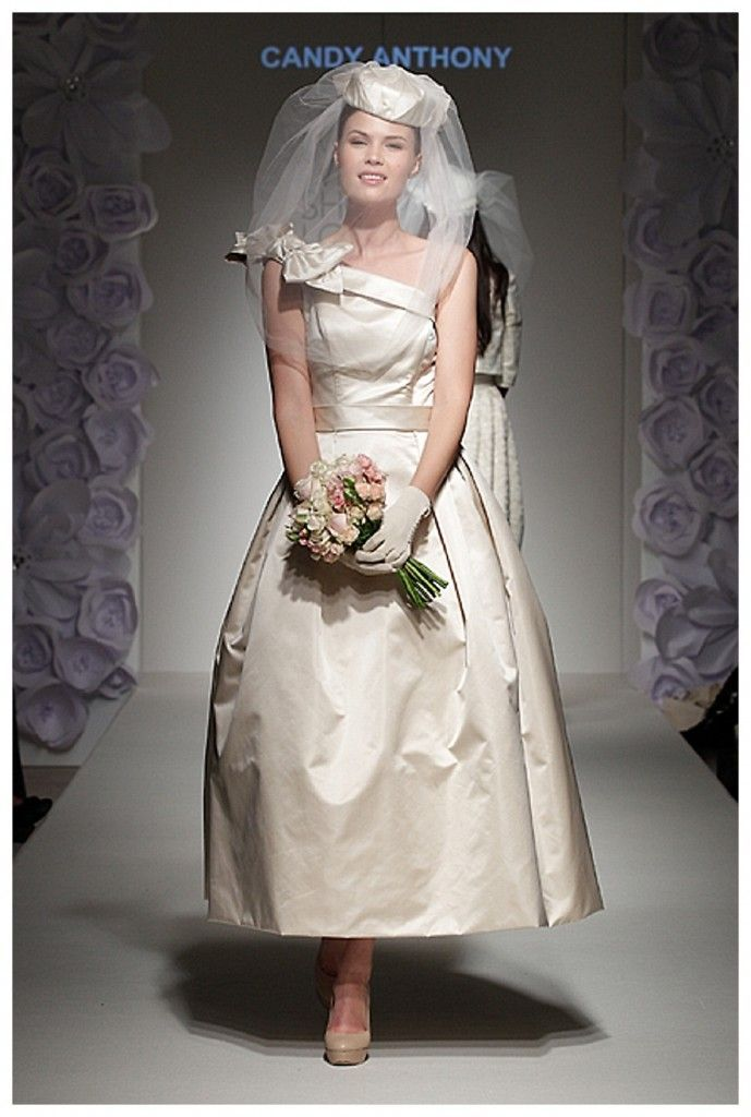 Candy Anthony classic vintage inspired wedding dress