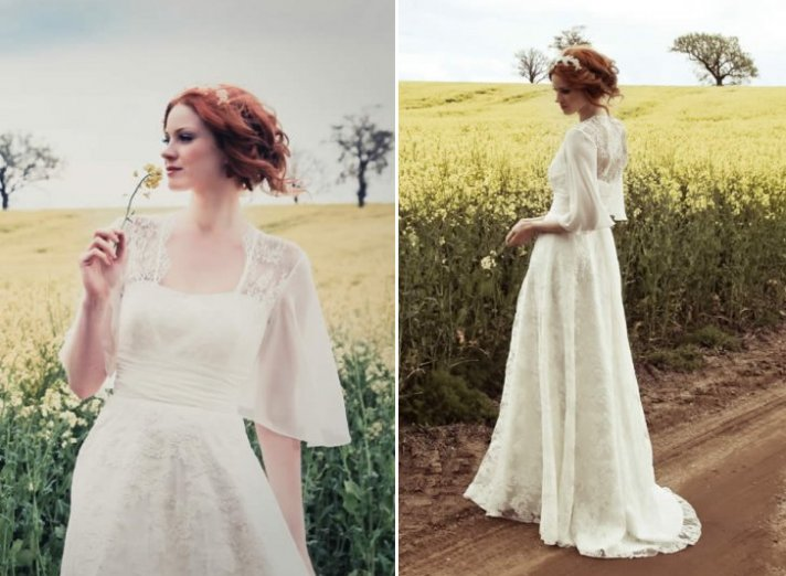 Elspeth wedding dress by Johanna Hehir