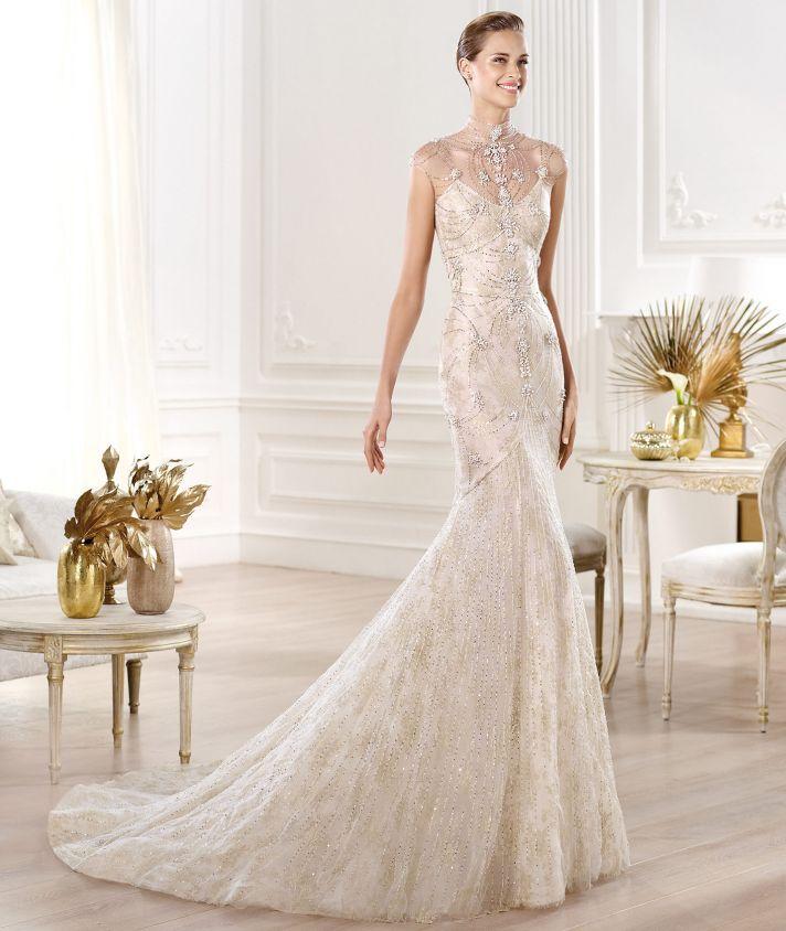Yalim wedding dress from Pronovias Atelier 2014 Bridal