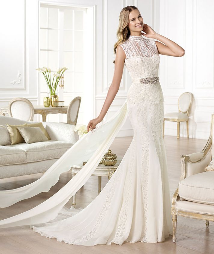 YARITZA wedding dress from Pronovias Atelier 2014 Bridal