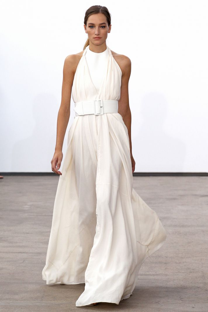Spring 2014 RTW wedding worthy dresses Derek Lam