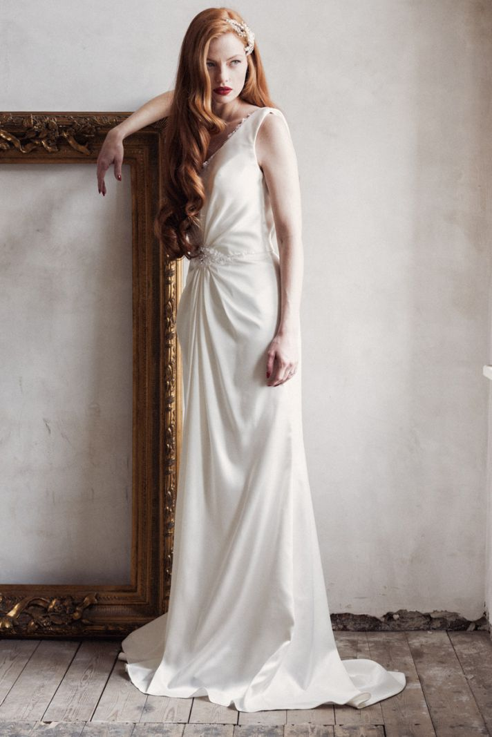 Sienna wedding dress by Charlotte Balbier 2014 bridal