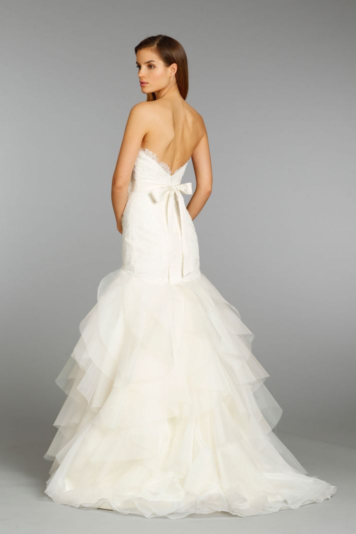 Jim Hjelm wedding dress fall 2013 bridal 8356