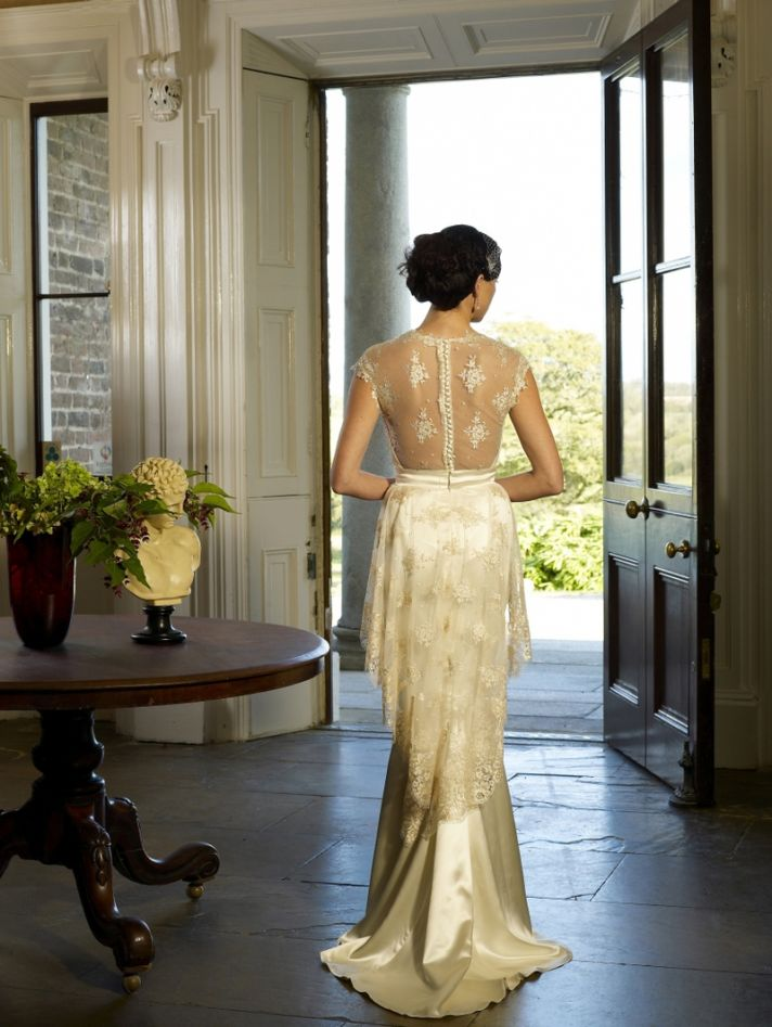 Siren wedding dress by Kathy de Stafford 2013 bridal