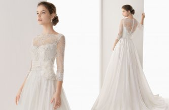 Fall 2014 Wedding Dresses Sleeved Wedding Dresses