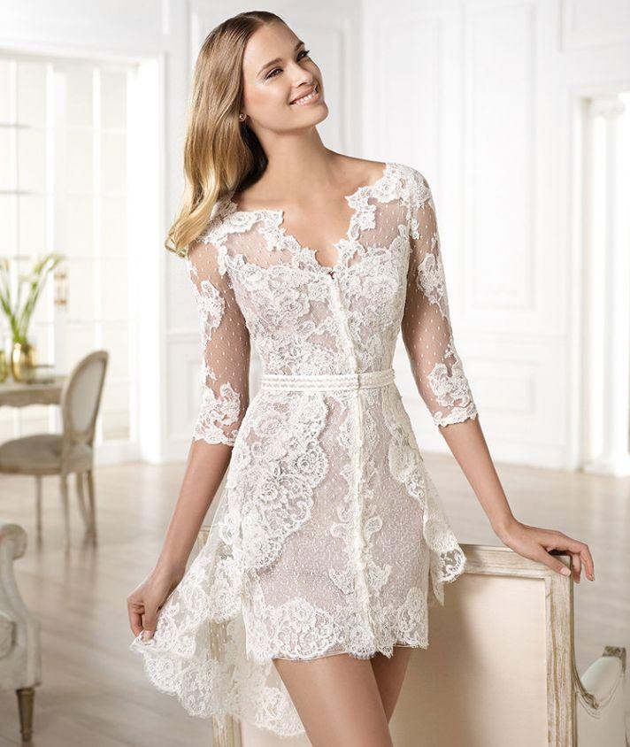 YECELIS wedding dress by Atelier Pronovias 2014 bridal