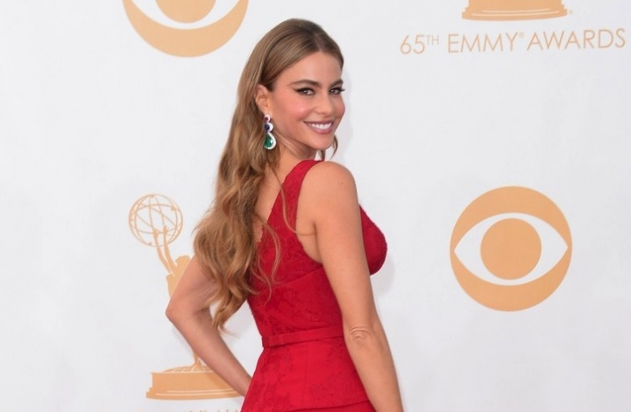 2013 Emmys wedding hair and makeup inspiration Sophia Vergara