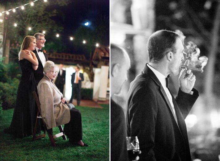 Real wedding in Simi Valley California outdoor reception fun