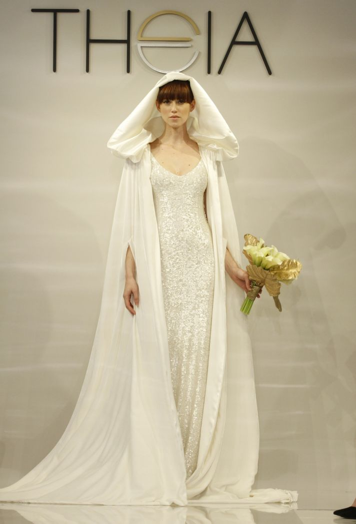 Fall 2014 Wedding Dresses by Theia: Modern Gilded Romance