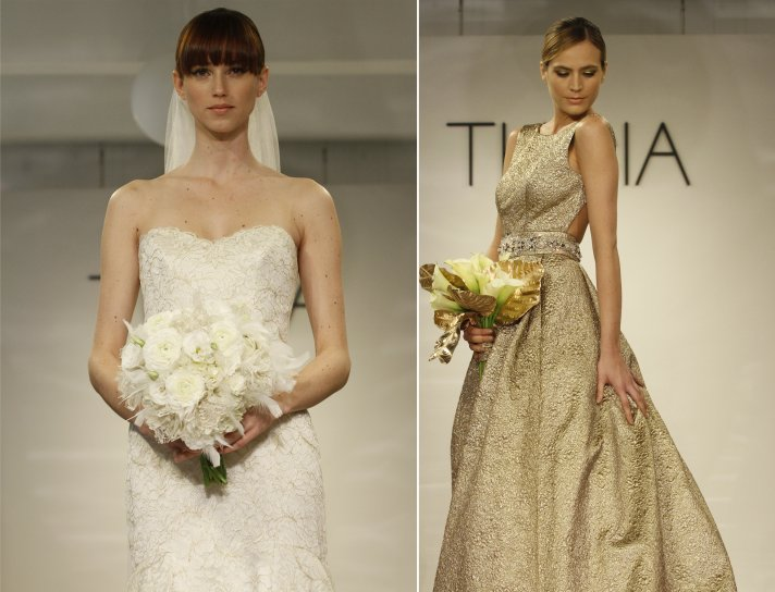 Ava wedding dress from Theia Couture Fall 2014