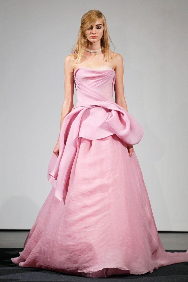 Wedding dress by Vera Wang Fall 2014 bridal collection 3
