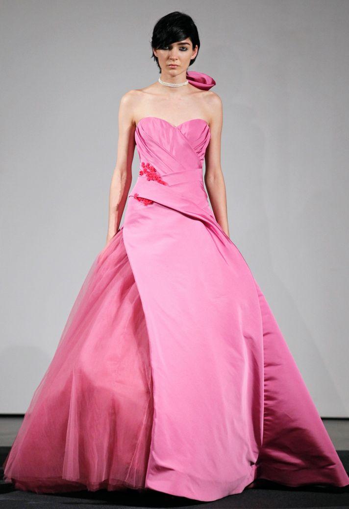 Wedding dress by Vera Wang Fall 2014 bridal collection 14