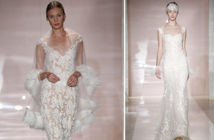 New Wedding Dress Collections 2014 Sneak Peek Reem Acra