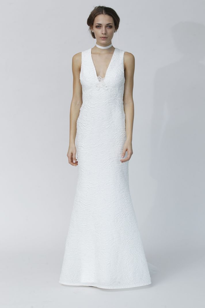 LAUDA wedding dress by Rivini Fall 2014 bridal