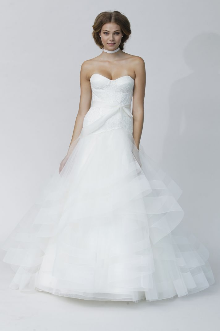 FABRIZIA wedding dress by Rivini Fall 2014 bridal